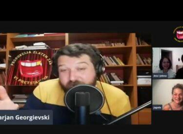 COMEDY ROOM – MARJAN GEORGIEVSKI & WOMEN THAT TALK 23. 05.2021