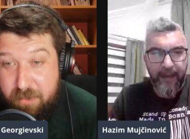 COMEDY ROOM – MARJAN GEORGIEVSKI &  HAZIM MUJCINOVIC 30. 05.2021