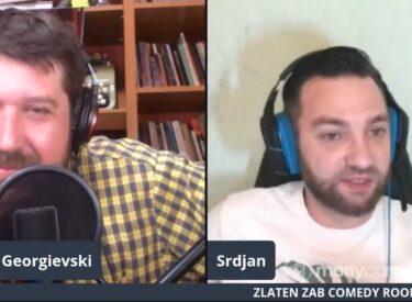 COMEDY ROOM – MARJAN GEORGIEVSKI &  SRDJAN SLIJEPCEVIC 04.07.21