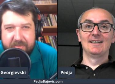 COMEDY ROOM – MARJAN GEORGIEVSKI & PEDJA BAJOVIC 12.07.21